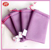 Microfiber Mesh bag for Mobile Power Pack pouch, high quality Canada microfiber pouch