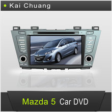 8 inch2din Mazda 5 Car DVD Player with GPS Bluetooth TV Ipod