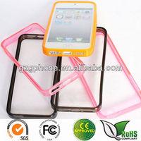 TPU bumper case for iphone5, for i5 bumper
