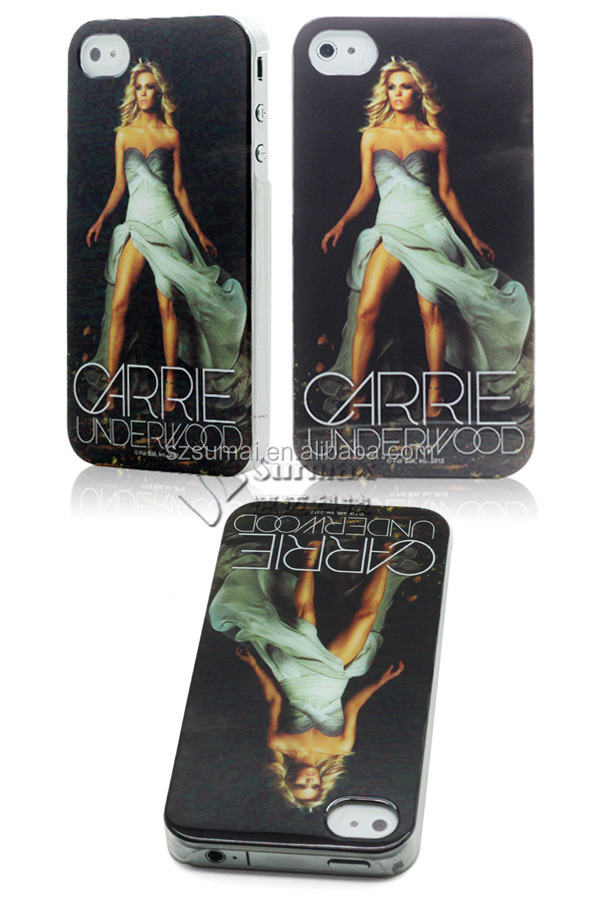 Mobile Phone Accessory for apple iphone 4 /Custome Logo Printed Mobile Phone Case