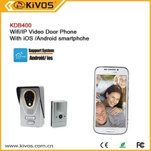 Recording video taking wifi door peephole support multi users ,remote monitor unlock and free online test