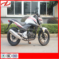 Chongqing Dongben High Quality 200cc 250cc Racing/Running Motorcycle