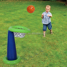 EN71 approved PVC toys giant inflatable basketball stands