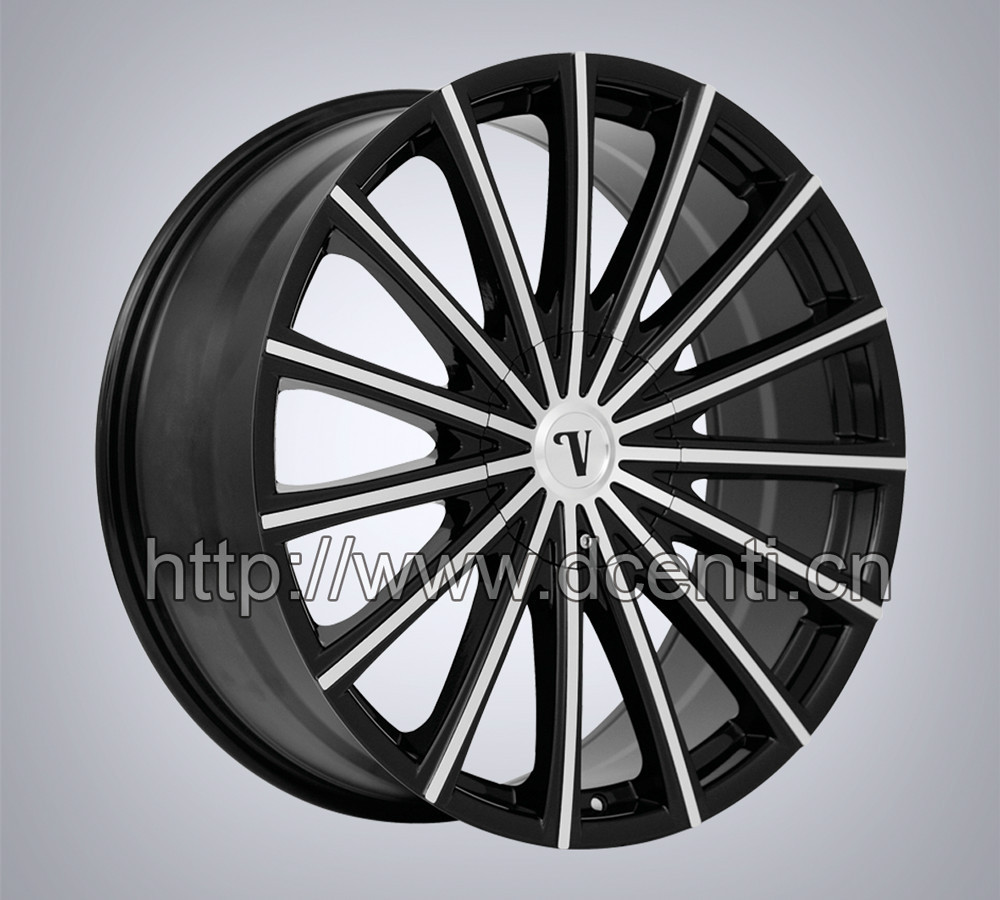 hot sale 17 24 inch spoke wheel alloy wheels for car. Black Bedroom Furniture Sets. Home Design Ideas