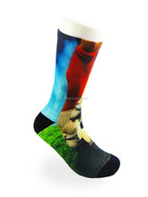 Cheap price custom socks, digital sublimation printing adult socks