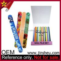 Salon Custom Cheap Promotional Gift Finger Nail Polish File EVA Shaping Nail Tool