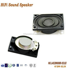 40*28MM 8OHM 1.5W Computer Speaker, high quality function of compact computer speakers