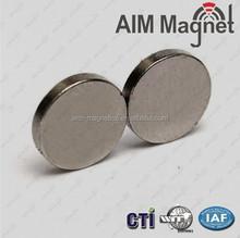 Neodymium Disc Magnet wholesale price Nickel coating