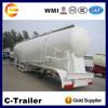 60t 3 axles bulk cement trailers/ bulk cement powder tank trailer