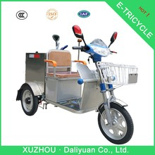 garbage electric passenger tricycle three wheel scooter electric tricycle standing