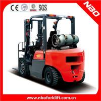 NBO 2 ton LPG forklift nissan forklift manual forklift for sale