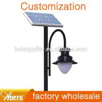 10w 20w outside light solar garden outdoor standing lamps for garden