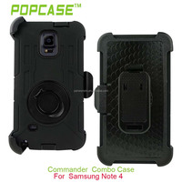 Multifunctional Hybrid Case with Belt Clip Holster for Samsung Galaxy Note 4
