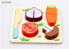 The wooden educational toy-2014 new children wooden toys,Kid Kitchen Cutting Wooden Toys Pretending Playing