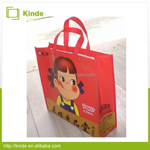 High quality cute candy laminated tote bag