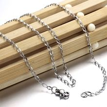 Popular product factory wholesale trendy style china steel link chain necklace from manufacturer GL327