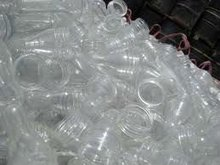 Pet bottle flake , bales