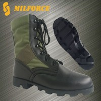genuine leather comfortable hot sale best used military boots