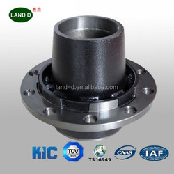 Trailer axle and parts China manufacturer hubs and drums quality axle parts