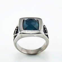 Hot Sale in mekerting Jewelry Wholesaler Stainless Steel Cheap Rings Stone setting