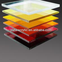 ประเทศจีนที่มีสีสันพลาสติกทนความร้อนแผ่นอะคริลิ