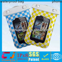 travel diving waterproof case for mobile phone in swimming