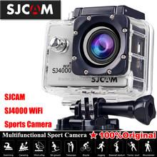 "SJCAM SJ4000 1.5"" LCD 4X Zoom 1080P Waterproof Digital Video Camera For Extreme Sports AU Standard Black with Remote Control"