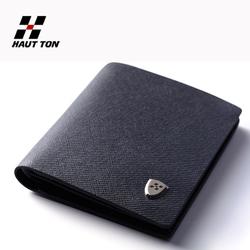 Genuine leather gentleman formal dress wallet