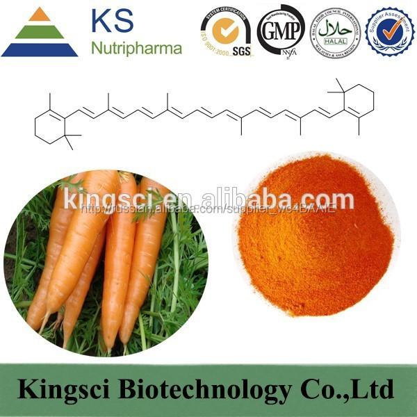 При производстве GMP 100% натуральный морковь экстракт бета-каротин цена порошок KS-3511