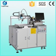 Epoxy silicone mix and dispensing automatic potting machine