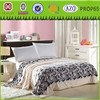 high quality print thick polyester flannel fleece moving blanket