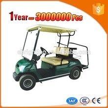 green 2 seater golf kart with high quality