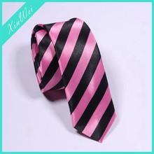 Newest Design Polyester Striped Necktie