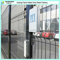 2014 china supplier cheap welded wire mesh fence panels in 6 gauge.