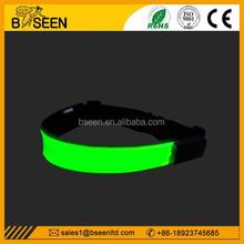 2015 most popular promotional item high quality flashing led safety belt