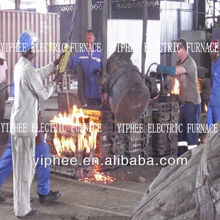 Congo Client Induction Electric Melting Furnace For Sale