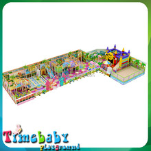 Plastic happy sliding swing combined toy ,indoor playground kids fun city