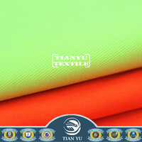 Fluorescent polyester cotton functional fabric Fluorescent fabric for life jacket