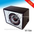 Paint box top car speakers and subwoofers
