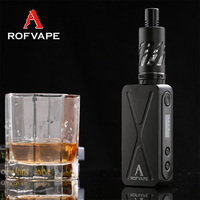 super vapor electronic cigarette ROFVAPE 50Watt A box mini with electronic cigarette big battery