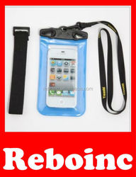 Big Volume PVC Waterproof Bag for Digital Camera iPhone 4 4S 3GS 3G iPod Touch Similar Size Mobile Phones Size 160x125mm