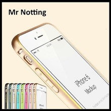 made in china double color aluminium bumper for iphone 6 for iphone 6plus