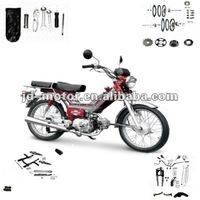 48Q motorcycle spare parts (delta EX-50QT-B)