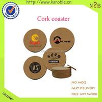2015 New Design Souvenirs Wedding Cork Coasters