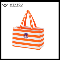 New Arrival Ladies fashion Embroidered Monogram Tote