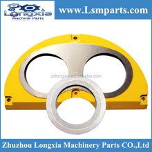Sermac concrete boom pump spare parts---wear plate and wear ring