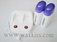 Combinado roll on depiladora calentador de cera para inicio salon spa