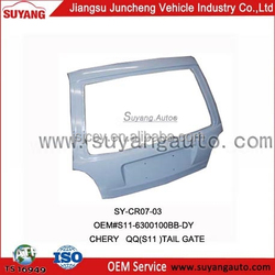 Chery MVM110 car spare parts tail door aftermarket products Chinese car brand for sale
