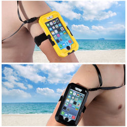 Amazing quality shockproof waterproof cell phone case packaging,waterproof phone case for iphone