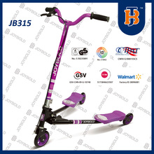 High Quality Three Wheel Trike Scooter, Swing Scooter For Kids Games EN71 CE Certificate